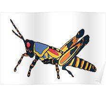 Surreal Grasshopper Poster