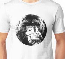 King kong monkey pick nose sticker t-shirt Unisex T-Shirt