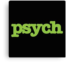 Psych Design Canvas Print
