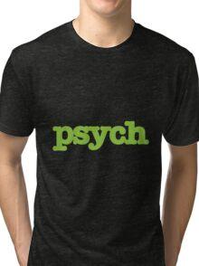 Psych Design Tri-blend T-Shirt