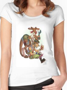 Tank boy and Boogy Women's Fitted Scoop T-Shirt