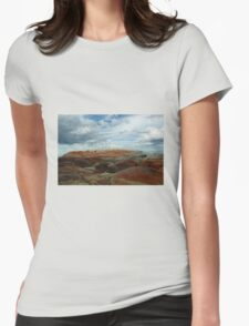 Colours Collide at the Bay of Fires Womens Fitted T-Shirt