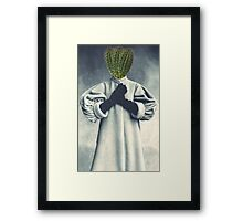 Love if you dare Framed Print