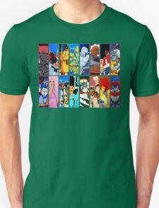 80s Totally Radical Cartoon Spectacular!!! VERSION 2 T-Shirt