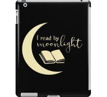 I Read By Moonlight iPad Case/Skin