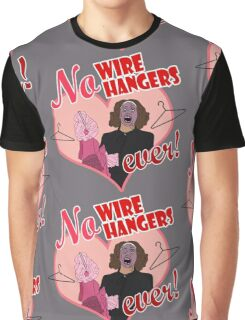 NO WIRE HANGERS Graphic T-Shirt