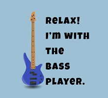 I'm With The Bass Player (Hers) Unisex T-Shirt