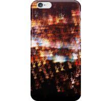 City landscape blurred iPhone Case/Skin