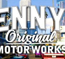 Benny's Original Motorworks Sticker