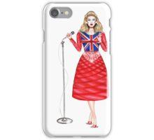 music doll singing iPhone Case/Skin