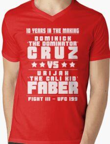 Cruz vs Faber III Mens V-Neck T-Shirt