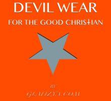 Devil Wear grey star Kids Tee
