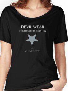 Devil Wear grey star Women's Relaxed Fit T-Shirt