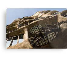 Wrought Iron, Glass and Stone Plus a Genius Imagination Metal Print