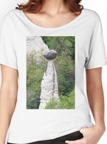 natural pyramids in the mountain Women's Relaxed Fit T-Shirt