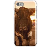 Close Encounter of the Bovine Kind iPhone Case/Skin
