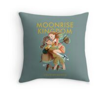 Moonrise Kingdom by Wes Anderson Throw Pillow