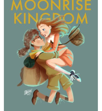 Moonrise Kingdom by Wes Anderson Sticker