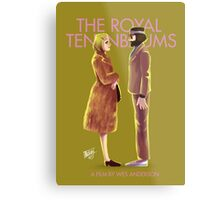 The Royal Tenenbaums by Wes Anderson Metal Print