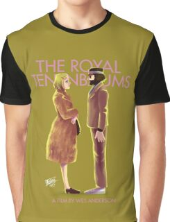 The Royal Tenenbaums by Wes Anderson Graphic T-Shirt