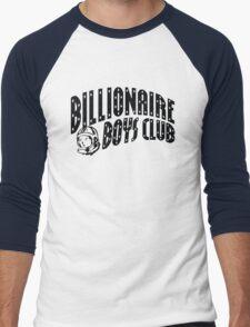 bbc black Men's Baseball ¾ T-Shirt