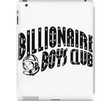 bbc black iPad Case/Skin