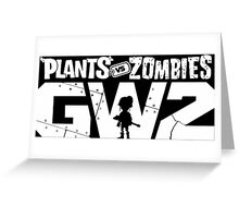 plants vs zombies garden warfare 2 Greeting Card