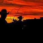 Sunset Lasoo by Natalie Ord