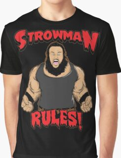 Strowman WWE Rules Graphic T-Shirt