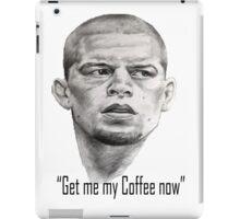 Nate Diaz- Get me my coffee McGregor iPad Case/Skin