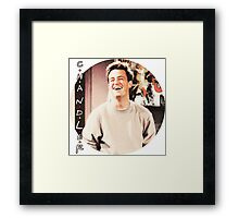 Friends --- Chandler Bing (v2) Framed Print