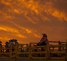 Rodeo Sunset by Natalie Ord