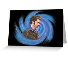 Tenth Doctor. Inside Vortex Greeting Card