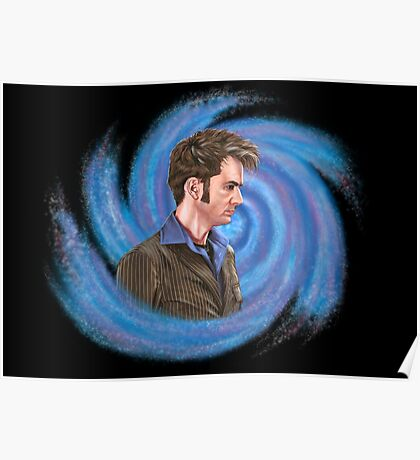 Tenth Doctor. Inside Vortex Poster