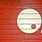 Yin Yang In Red And White by Alexandra Lavizzari