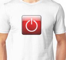 Shutdown Button Unisex T-Shirt