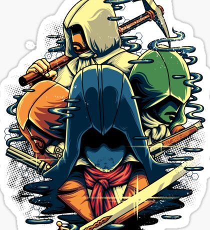 The Assassins  Sticker
