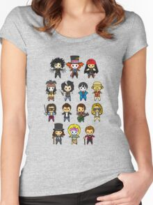 The Johnny Depp Collection Women's Fitted Scoop T-Shirt