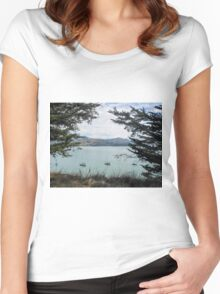 Akaroa - New Zealand Women's Fitted Scoop T-Shirt
