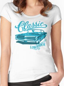 lowrider classic shirt Women's Fitted Scoop T-Shirt