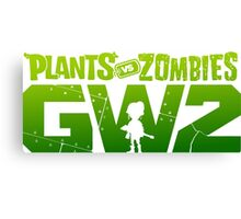 plants vs zombies garden warfare 2 Canvas Print