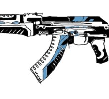AK 47 Vulcan Sketch (CSGO) Sticker