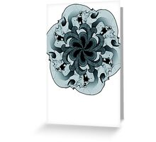 Tessellate and Decay Greeting Card