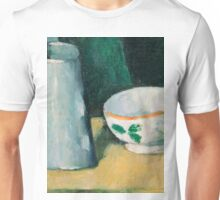 1877 - Paul Cezanne - Bowl and Milk-Jug Unisex T-Shirt