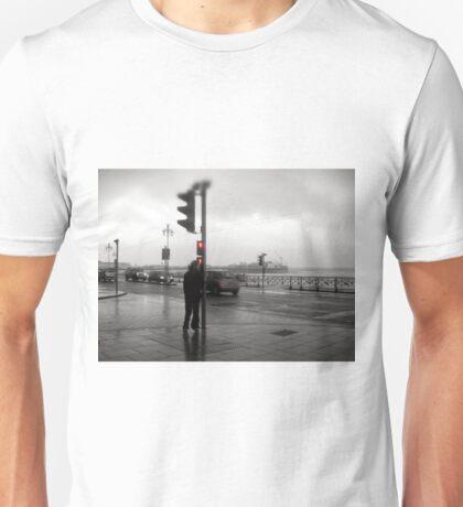 Storm Warning on Brighton Beach Unisex T-Shirt