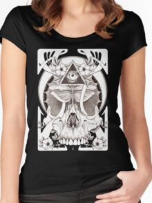 Illuminate The Swarm Women's Fitted Scoop T-Shirt