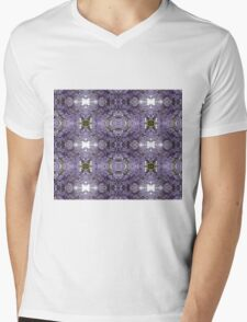 Purple Haze Mens V-Neck T-Shirt