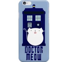 doctor meow iPhone Case/Skin