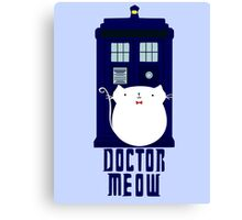 doctor meow Canvas Print