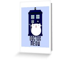 doctor meow Greeting Card